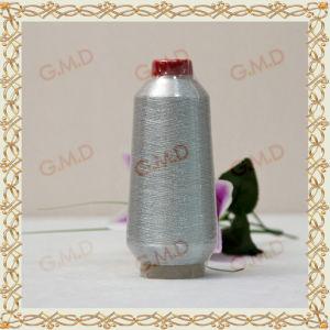 St Type Gray Silver Lurex/Metallic Yarn