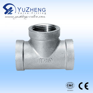 Female Thread Equal Stainless Steel Pipe Fitting pictures & photos