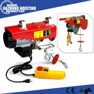 220V 500kgs Construction Lifting Equipment PA Mini electric Hoist