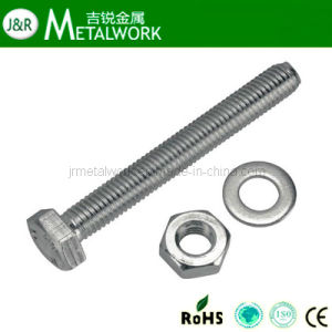 Stainless Steel Hex Bolt DIN933 DIN931 pictures & photos