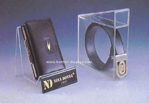 Custom Plastic Acrylic Leather Belt Display Stand pictures & photos