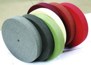 Non-Woven Stainless Steel Cleaning Buffing Wheel pictures & photos