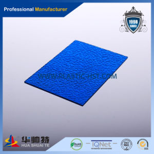 Colored PC Embossed Sheet (PC-E09) pictures & photos