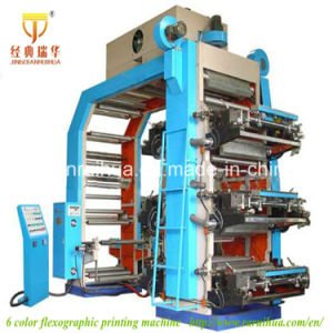2016 Newest High Quality 6 Color Paper/Film/Nonwoven Flexographic Printing Machine pictures & photos