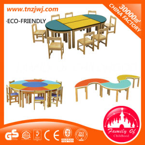 Hot Sale Preschool Cheap School Plastic Kids Tables and Chairs for Sale pictures & photos