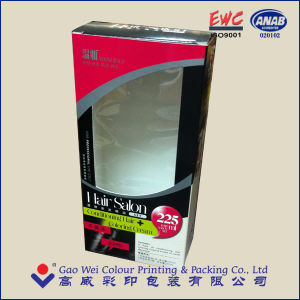 Customized Cardboard Packaging Box with Window pictures & photos