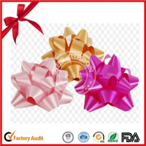 Colorful Printed Fashion Gift Ribbon Bow for Decoration pictures & photos