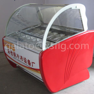 Ice Cream Gelato Display Case 3c/ISO Factory pictures & photos