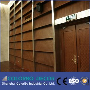 MDF Interior Decorative Panel Sound Absorption Panel pictures & photos