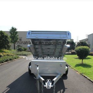10X5FT Hot Dipped Galvanized Heavy Duty Hydraulic Tipper Trailers pictures & photos
