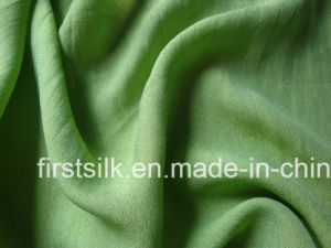 Silk Wool Chiffon Solid Dyed Woven Fabric pictures & photos