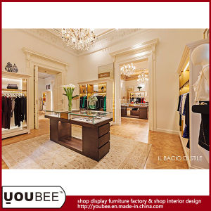 European Style Clothes Display Furniture for Luxury Ladies′ Clothes Store pictures & photos