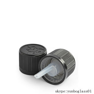 Childproof Screw Cap for Amber Essential Oil Bottles