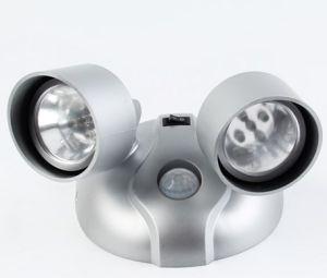 Two Head Motion Sensor LED Light pictures & photos