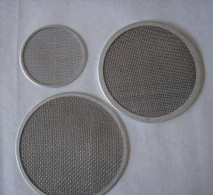 10 20 25 30 Micron Extruder Screens Fine Reusable Stainless Steel Mesh Filter Disc pictures & photos