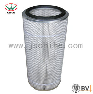 Air Filter Element with Outer Galvanised Mesh pictures & photos