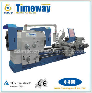"""14"""" Large Spindle Bore Pipe Thread Lathe (Q-360) pictures & photos"""