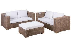 Two Seater Garden Outdoor Wicker Sofa pictures & photos