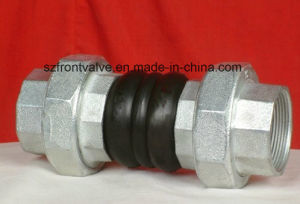 Double Sphere EPDM/NBR Rubber Threaded Expansion Joint pictures & photos