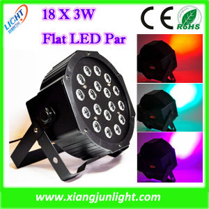 18X3w Indoor RGB LED PAR Can Stage Lighting pictures & photos
