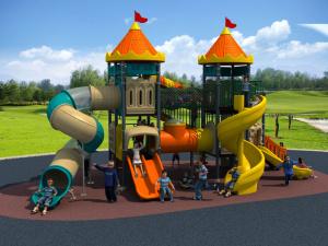 Factory Customized of Kids Outdoor/Indoor Playground Slide Hot Sell Preschool Equipment Amusement Park European and Korea Castle pictures & photos