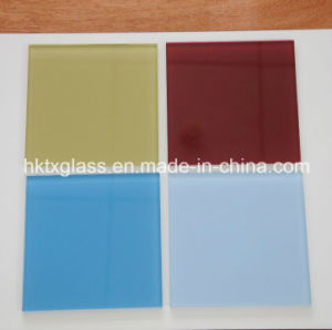 Colorful Painted Glass with ANSI and En12150 Ceritificate pictures & photos