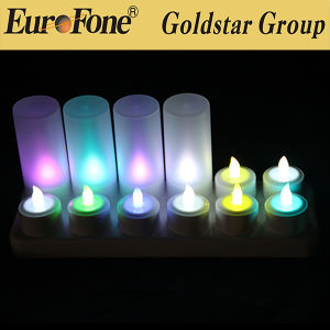 Color Changing Candle with Remote for Home Decoration pictures & photos