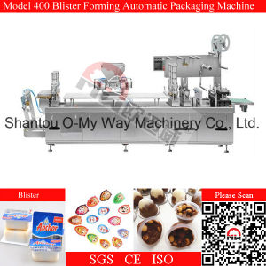 Pre-Forming PVC PS Pet Chocolate Filling Sealing Machine pictures & photos