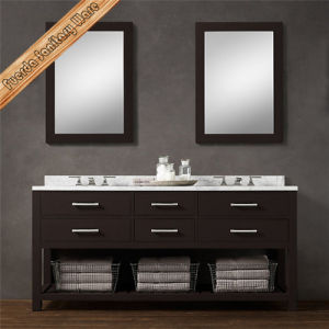 Fed-1992A Modern Solid Wood Bathroom Vanity pictures & photos