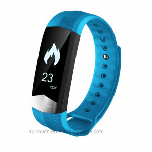 2017 Latest Model of Heart Rate Blood Pressure Blood Oxygen ECG/PPG Bluetooth Smart Bracelet pictures & photos