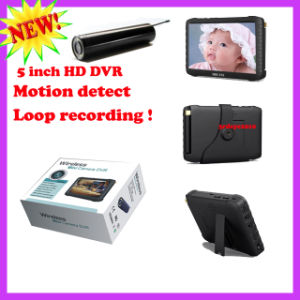"2.4G 6 LEDs Night Vision Endoscope Camera with 5"" Mini DVR Receiver pictures & photos"