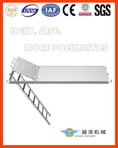 Facade Scaffolding System-Aluminium Work Platform with Ladder (FAS-AP) pictures & photos