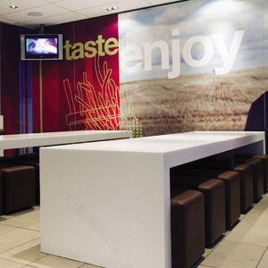 Modern Design Furniture Artificial Stone Bar Counter (170521) pictures & photos
