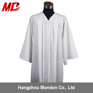 China Wholesale High School Graduation Gown Matte White - China ...