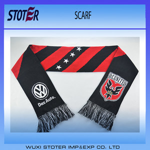 Promotional Football Fans Knit Scarf pictures & photos