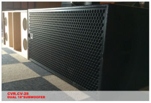 PRO Stage Subwoofer Speake Outdoor Live Show Dual 18 Inch 2000watt pictures & photos