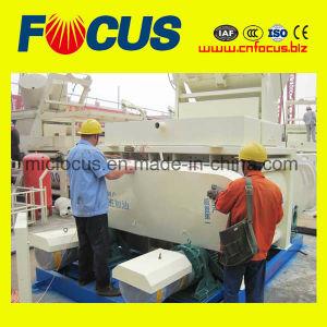 Forced Type Concrete Mixer, Js1000 Twin Shaft Concrete Mixer pictures & photos