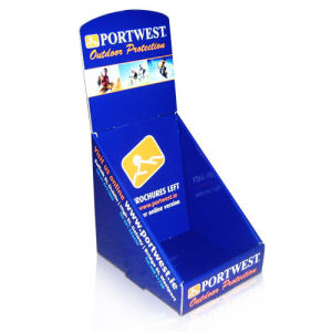 Cmyk Printed Counter Top Shelf Display Stands Psdf, Counter Display Unit pictures & photos