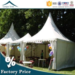 PVC Coated Leisure 5X5m Carpa Pagoda Tent for Outdoor Wedding Party Events pictures & photos