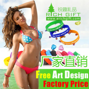 Wholesale Custom Fashionable Cheap Rubber Silicone Wristband Watch pictures & photos