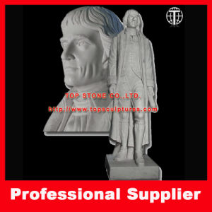 Thomas Jefferson Marble Statue Stone Carving Marble Sculpture pictures & photos
