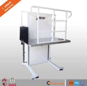 Factory Sale Hydraulic Electric Wheelchair Lift for Disabled with Ce pictures & photos