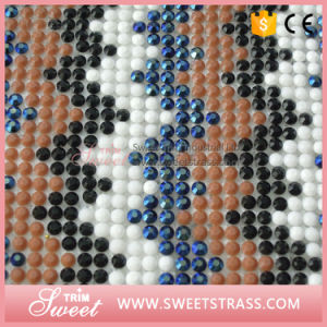 Wholesale 24X40cm Fashion Hot Fix Applique Resin Crystal Sheet pictures & photos