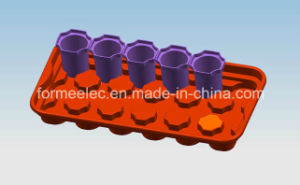 Flowerpot Tray Plastic Mould Design Manufacture Flowerpot Rack Mold pictures & photos
