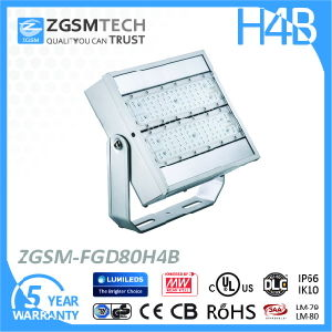 80W LED Flood Light Floodlight Lumiled Luxeon 3030 LED Chip pictures & photos