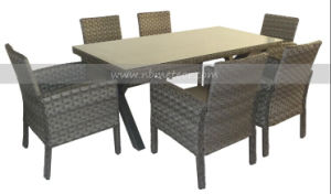 Mtc-172 PE Rattan Dining Set Outdoor Garden Furniture pictures & photos