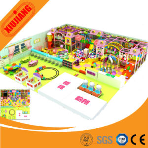 Candy Theme Soft Material Children Indoor Playground Equipment (XJ1001) pictures & photos