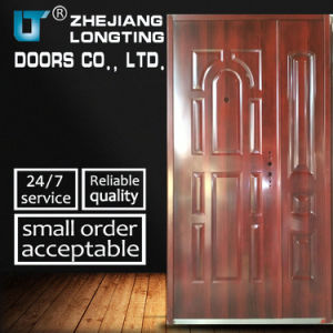 Hot Steel Security Door (LTT-066-D) pictures & photos