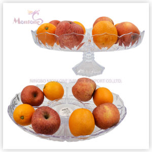412g Plastic Fruit Plate/Dish, Fruit Serving Tray, Fruit Bowl pictures & photos