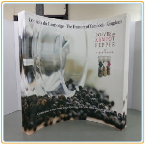 Custom Cheap Pop up Display Stands (8FT Curved) pictures & photos